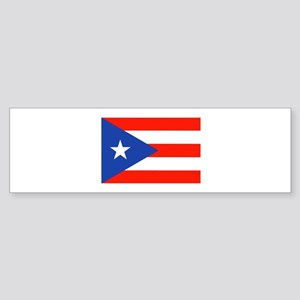 Boricua Bandera Puerto Rican Orgull Bumper Sticker