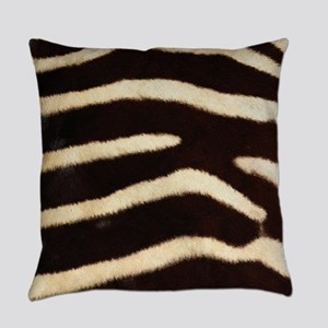 Zebra Fur Everyday Pillow
