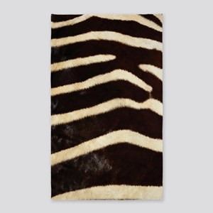 Zebra Fur Area Rug