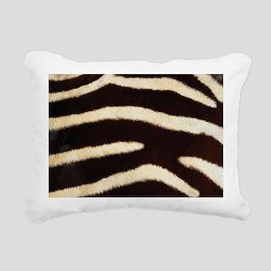 Zebra Fur Rectangular Canvas Pillow