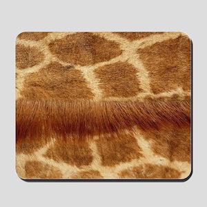 Giraffe Fur Mousepad