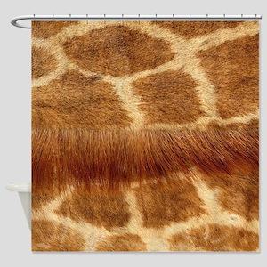 Giraffe Fur Shower Curtain