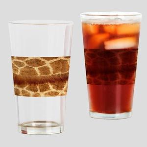 Giraffe Fur Drinking Glass