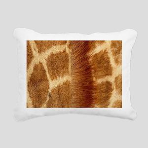 Giraffe Fur Rectangular Canvas Pillow