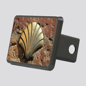 Gold El Camino shell sign, Rectangular Hitch Cover