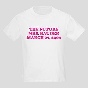 THE FUTURE MRS. BAUDER MARC Kids Light T-Shirt