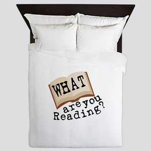 What Are You Reading? Queen Duvet