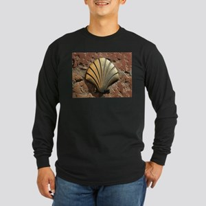 Gold El Camino shell sign, pav Long Sleeve T-Shirt