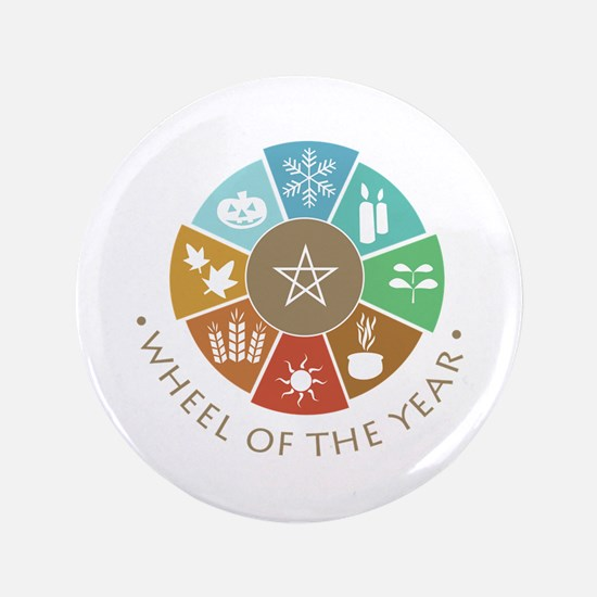 Wheel Of The Year Button