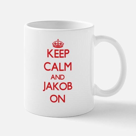 Keep Calm and Jakob ON Mugs