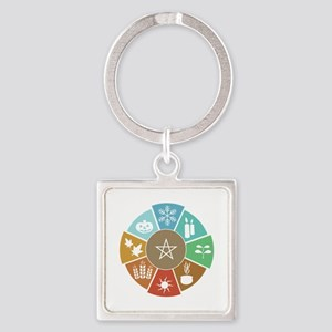 Wheel Of The Year Keychains