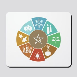 Wheel Of The Year Mousepad