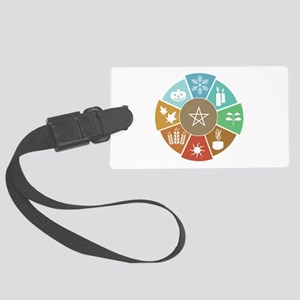 Wheel Of The Year Luggage Tag