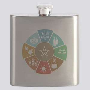 Wheel Of The Year Flask