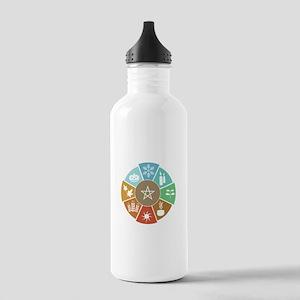 Wheel Of The Year Water Bottle