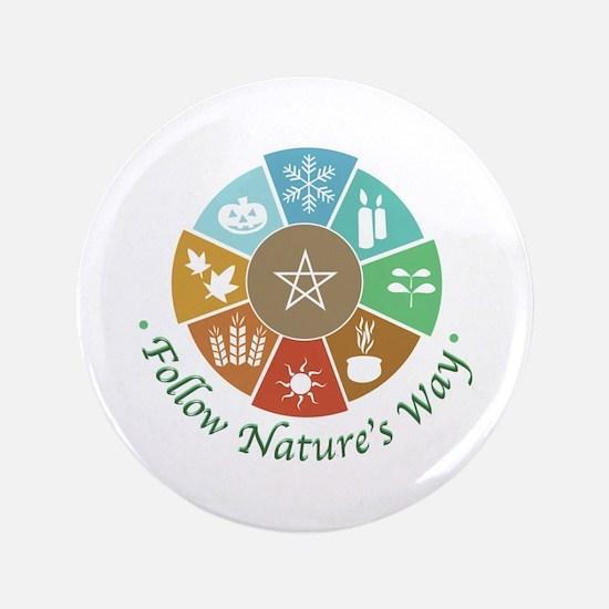 Follow Nature's Way Button
