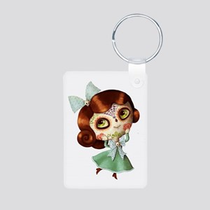 The Day of The Dead Vintage Doll Keychains