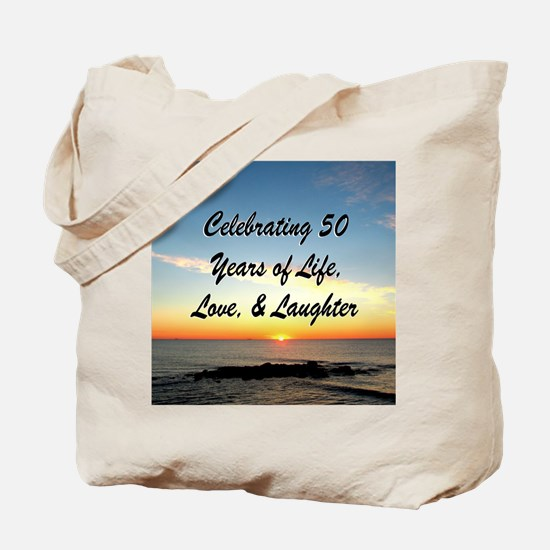 INSPIRATIONAL 50TH Tote Bag