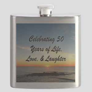 INSPIRATIONAL 50TH Flask