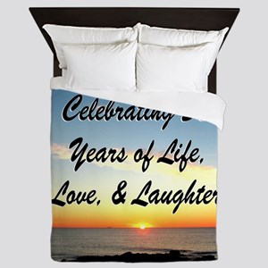 INSPIRATIONAL 50TH Queen Duvet