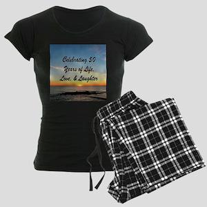 INSPIRATIONAL 50TH Women's Dark Pajamas