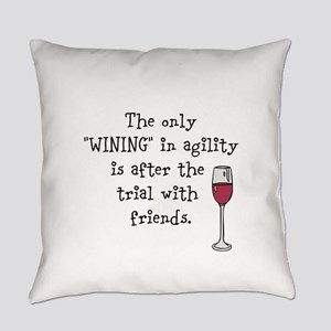 Wining with friends Everyday Pillow