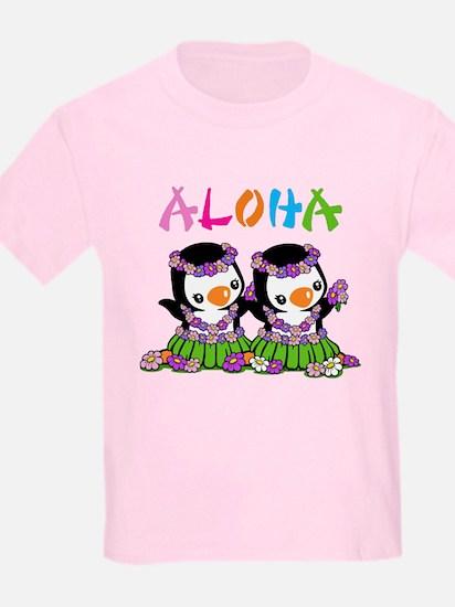 Aloha Penguins (2) T-Shirt