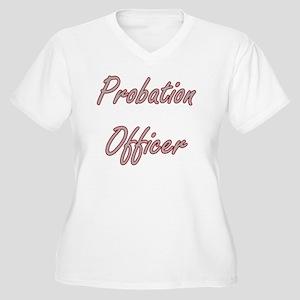 Probation Officer Artistic Job D Plus Size T-Shirt