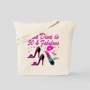 GLAMOROUS 50TH Tote Bag