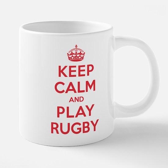 Keep Calm Play Rugby Mugs