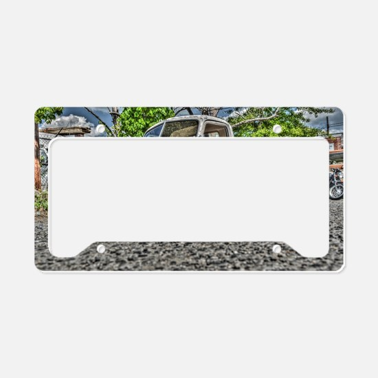 Unique American muscle License Plate Holder