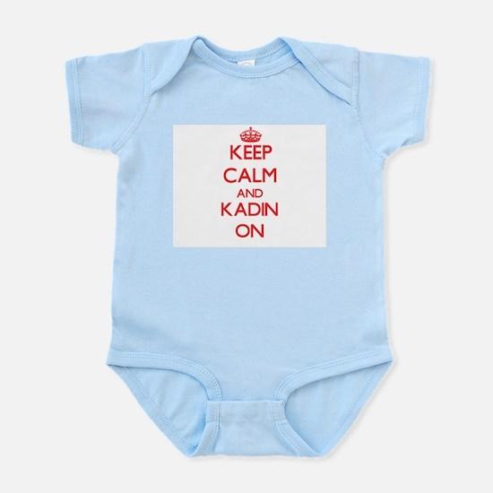 Keep Calm and Kadin ON Body Suit