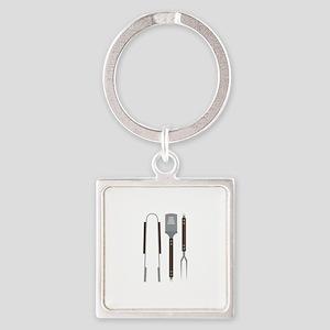 Grill Untensils Keychains