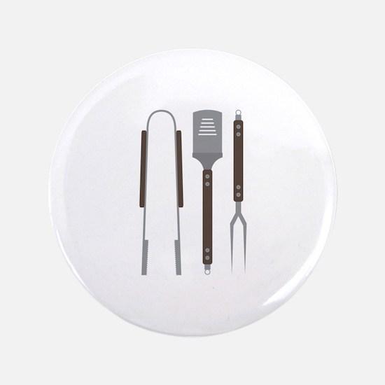 "Grill Untensils 3.5"" Button (100 pack)"