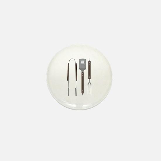 Grill Untensils Mini Button