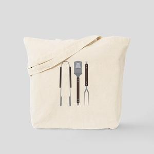 Grill Untensils Tote Bag