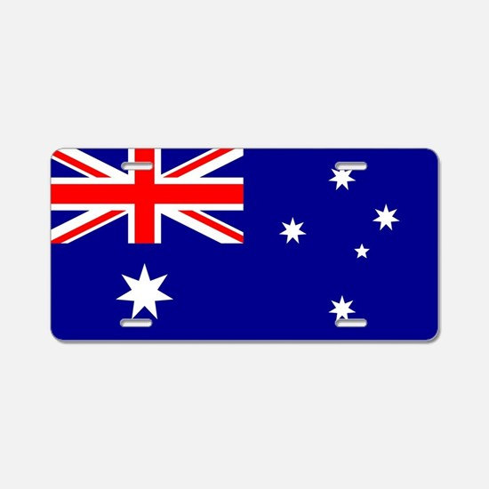 Flag of Australia Aluminum License Plate