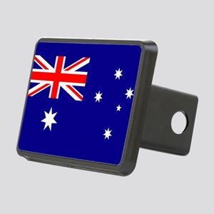 Flag of Australia Rectangular Hitch Cover