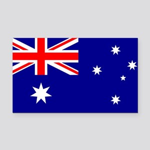 Flag of Australia Rectangle Car Magnet