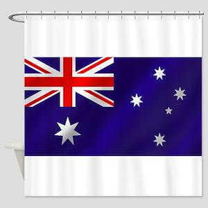 Flag of Australia Shower Curtain