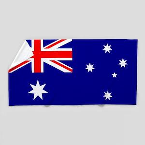 Flag of Australia Beach Towel