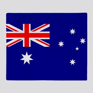 Flag of Australia Throw Blanket