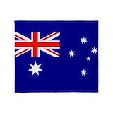 Australia Fleece Blankets