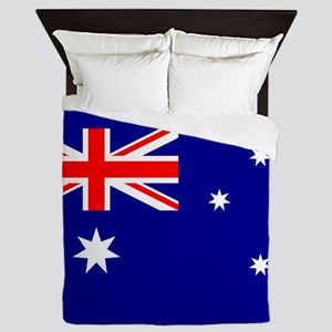 Flag of Australia Queen Duvet