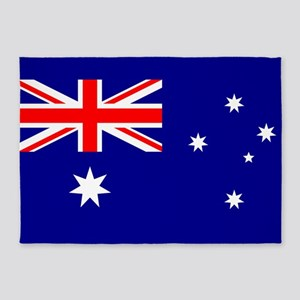 Flag of Australia 5'x7'Area Rug