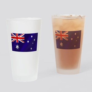 Flag of Australia Drinking Glass