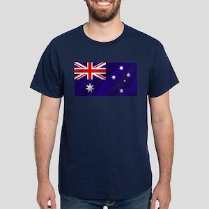 Flag of Australia Dark T-Shirt