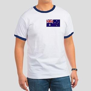 Flag of Australia Ringer T