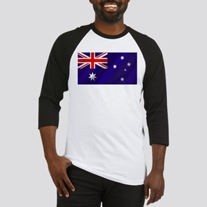 Flag of Australia Baseball Jersey