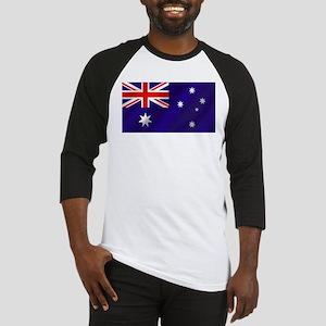 Flag of Australia Baseball Jersey